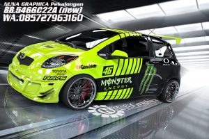 yaris render satingg