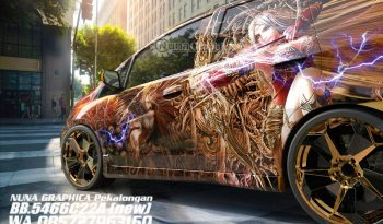 Honda Jazz custom decal full