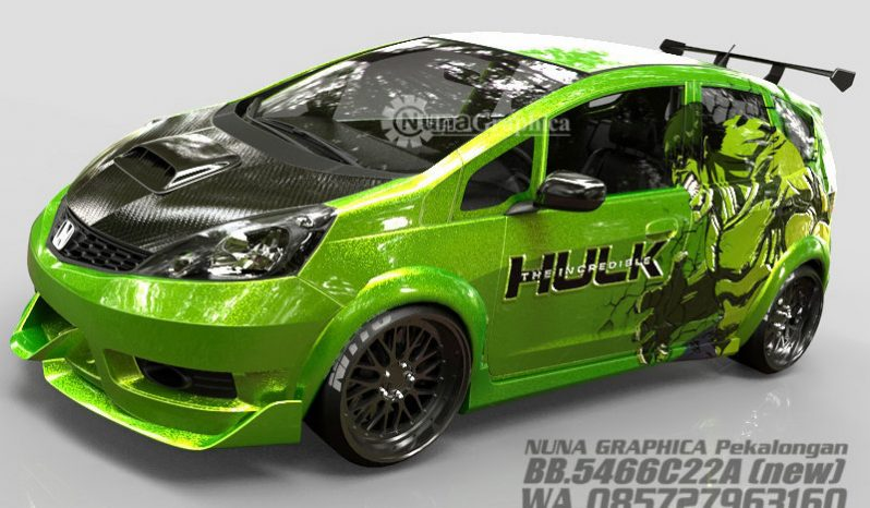 Honda Jazz Hulk full