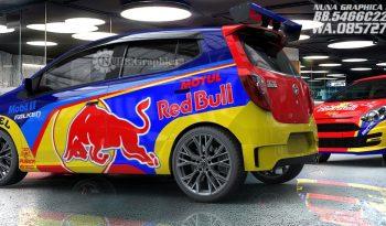 Toyota Agya/Ayla rally redbull full