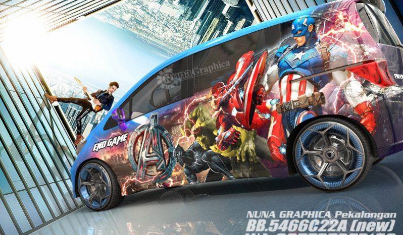 Honda Freed Marvel heroes full
