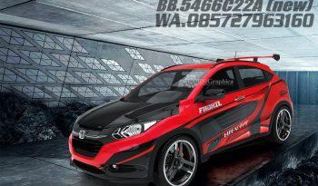 Honda HRV 3D decal full