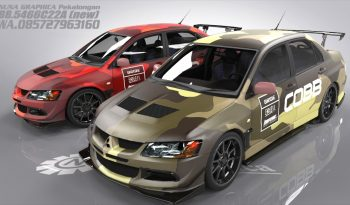 Mitsubishi Evo Rusty full