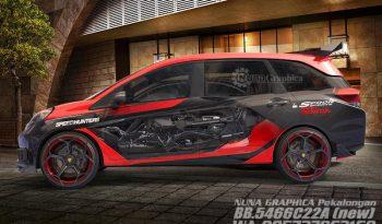 Honda Mobilio 3D machine full