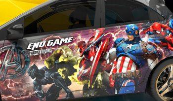 Honda Brio Marvel heroes full