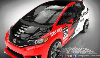 Honda New Jazz racing full